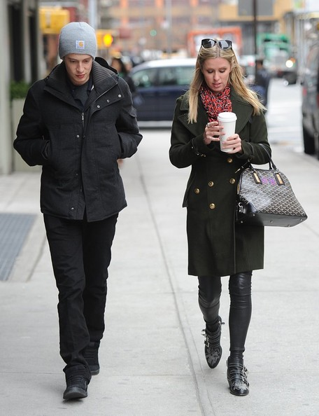 More Pics of Nicky Hilton Wool Coat (1 of 9) - Nicky Hilton Lookbook - StyleBistro