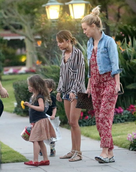 More Pics of Nicole Richie Denim Shorts (2 of 32) - Nicole Richie Lookbook - StyleBistro