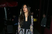 Nicole Scherzinger Sheer Dress