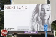 Nikki Lund Reveals Her New Billboard Campaign