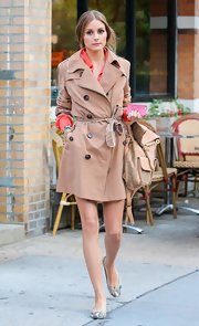 Olivia Palermo's stylish trench had a totally classic and cool look on the fashion icon.
