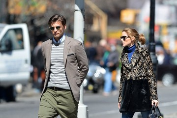 Olivia Palermo Johannes Huebl Olivia Palermo and Johannes Huebl Walk Their Dog