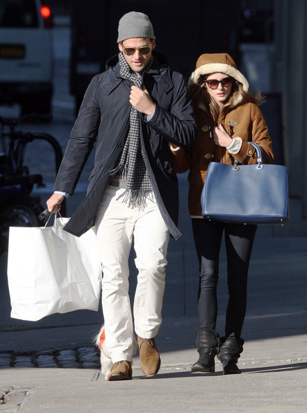 More Pics of Olivia Palermo Flat Boots (1 of 9) - Olivia Palermo Lookbook - StyleBistro