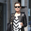 Olivia Wilde in Chevron stripes