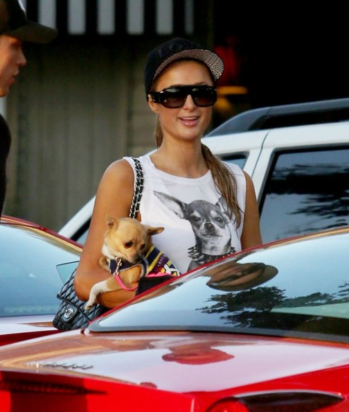 Paris Hilton Custom Baseball Cap
