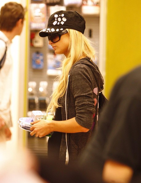 Paris Hilton Military Cap