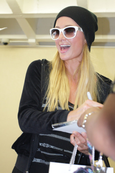 Paris Hilton Wayfarer Sunglasses