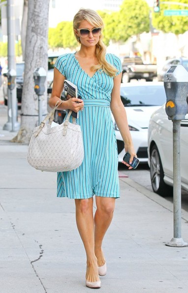 Paris Hilton Print Dress