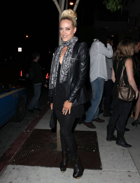 Peta Murgatroyd Leather Jacket