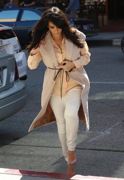 More Pics of Kim Kardashian Vest (1 of 7) - Kim Kardashian Lookbook - StyleBistro