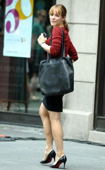 Rachel McAdams Oversized Shopper Bag