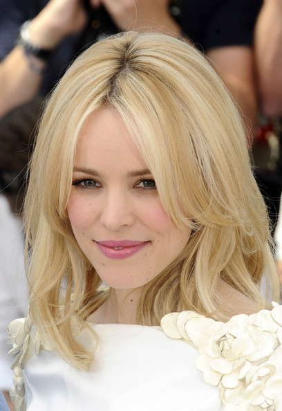 Rachel McAdams Medium Layered Cut