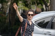 Rachel Weisz Canvas Messenger Bag