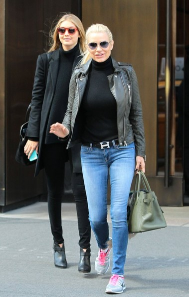 More Pics of Yolanda Foster Leather Jacket (1 of 4) - Yolanda Foster Lookbook - StyleBistro