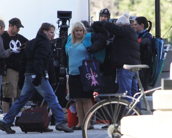 Rebel Wilson Films In West Hollywood