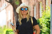 Reese Witherspoon Round Sunglasses