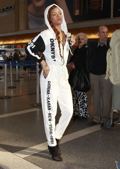 More Pics of Rihanna Jumpsuit (1 of 17) - Rihanna Lookbook - StyleBistro