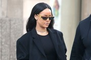 Rihanna Designer Shield Sunglasses