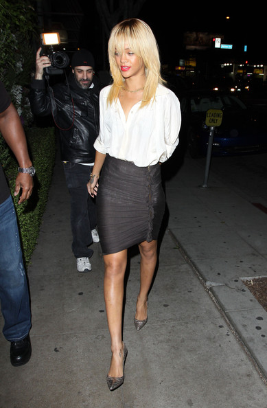Rihanna Pencil Skirt