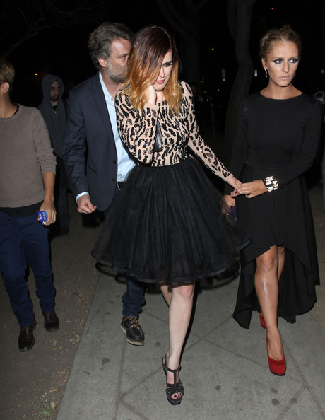 Rumer Willis Platform Sandals