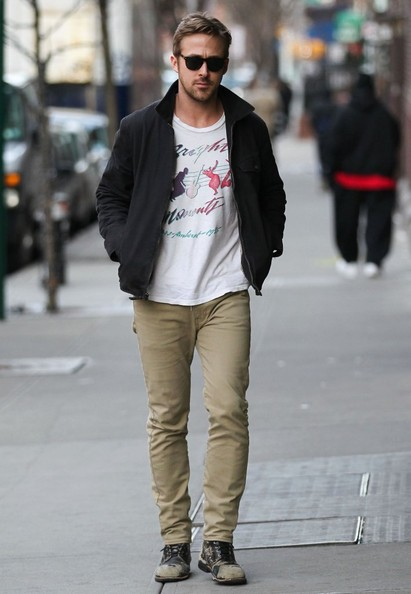 Ryan Gosling Skinny Pants []