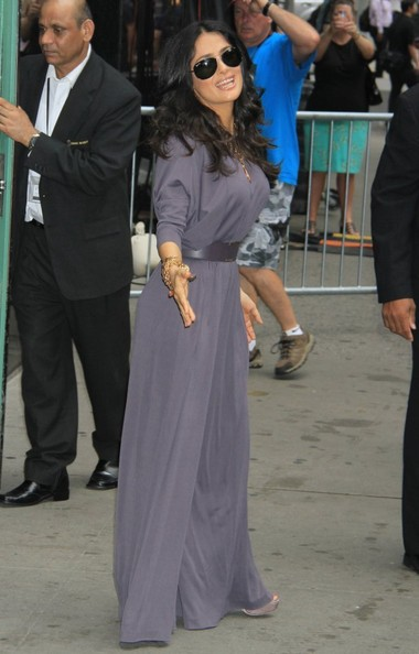 More Pics of Salma Hayek Jumpsuit (4 of 17) - Jumpsuit Lookbook - StyleBistro