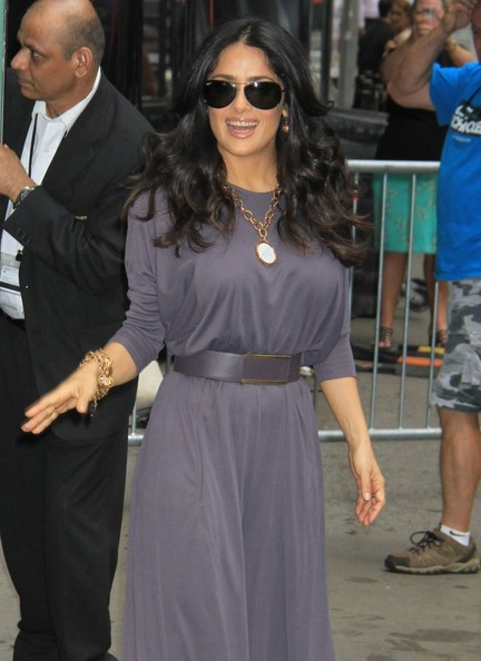 More Pics of Salma Hayek Jumpsuit (6 of 17) - Jumpsuit Lookbook - StyleBistro