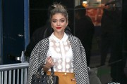 Sarah Hyland Tweed Coat