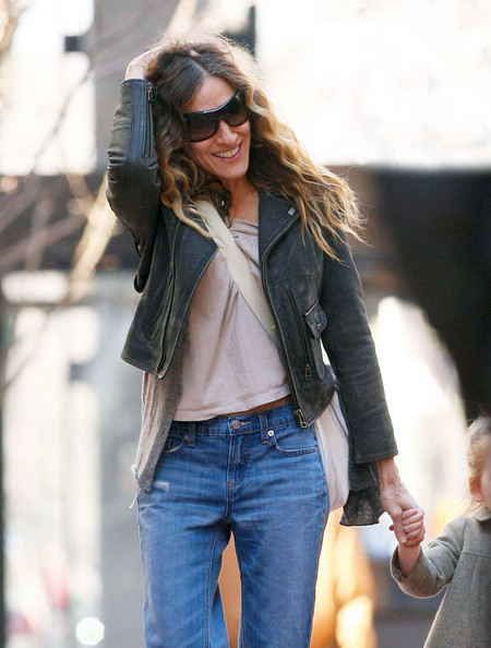 Sarah Jessica Parker Leather Jacket