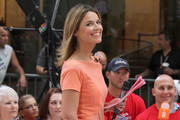 Savannah Guthrie Day Dress