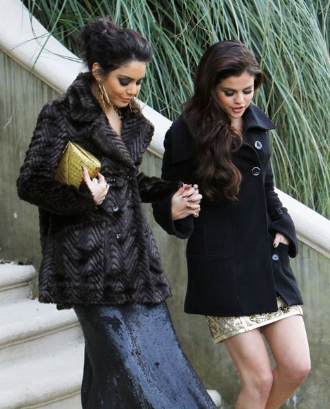More Pics of Vanessa Hudgens Wool Coat (5 of 30) - Wool Coat Lookbook - StyleBistro