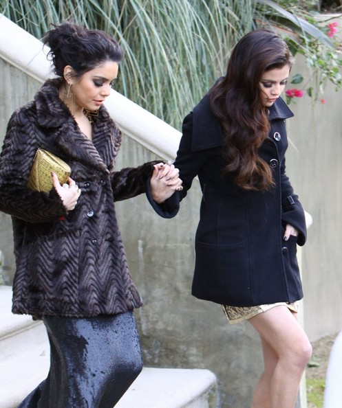 More Pics of Vanessa Hudgens Wool Coat (2 of 30) - Wool Coat Lookbook - StyleBistro