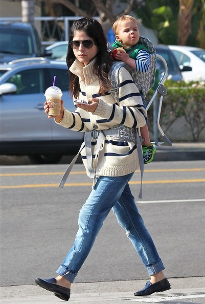 More Pics of Selma Blair Ripped Jeans (1 of 26) - Selma Blair Lookbook - StyleBistro