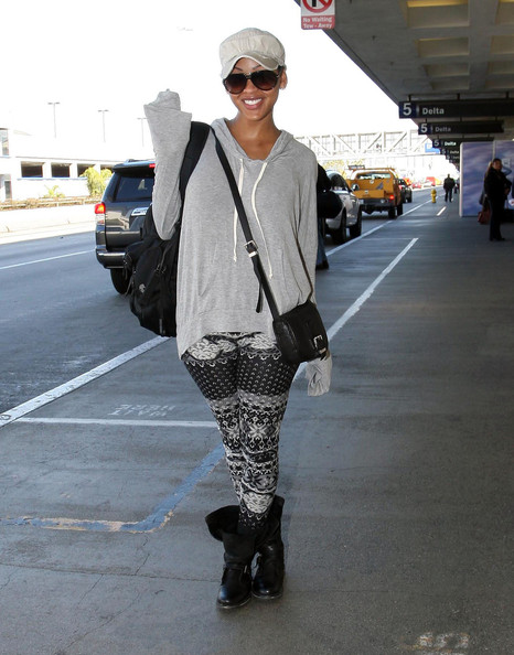 More Pics of Megan Good Leggings (1 of 7) - Megan Good Lookbook - StyleBistro