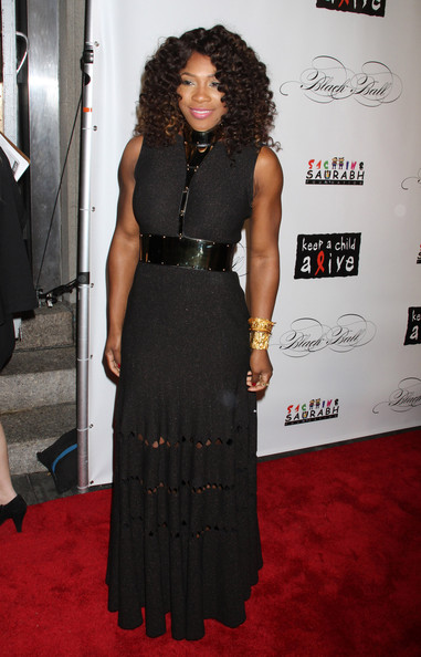 Serena Williams Cutout Dress