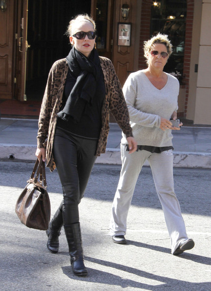 More Pics of Sharon Stone Pashmina (1 of 6) - Sharon Stone Lookbook - StyleBistro