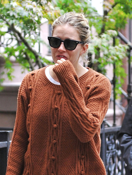 Sienna Miller Takes A Stroll In The Big Apple