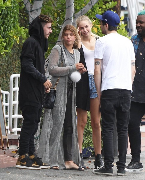 Sofia Richie Duster