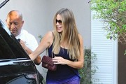 Sofia Vergara Quilted Leather Bag