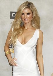 Marisa Miller showed off her long signature curls while hitting the Guys Choice Awards.