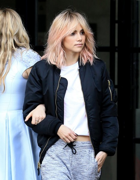 Suki Waterhouse Bomber Jacket