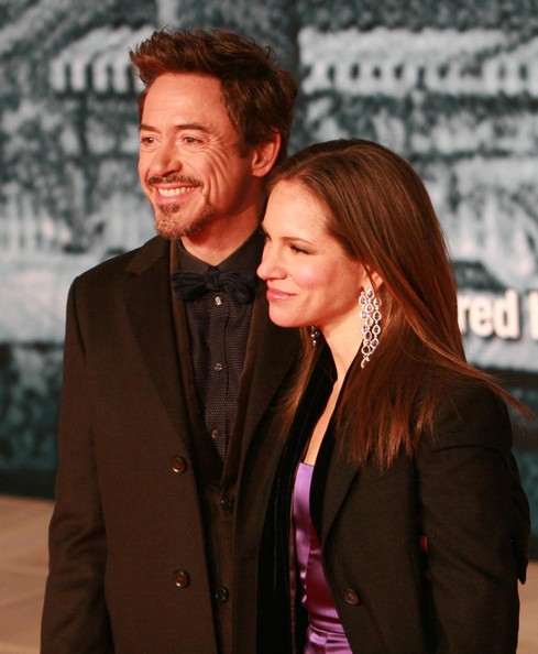 Susan Downey Crystal Chandelier Earrings