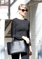 Taylor Swift went for vintage cuteness with these cateye sunnies while out and about in West Hollywood.