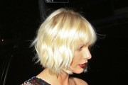 Taylor Swift Short Wavy Cut