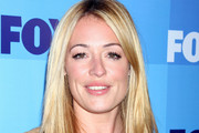 Cat Deeley Sizzles in Tan Leather Sandals
