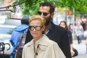 Sandro Kopp and Tilda Swinton Photo