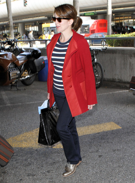 Tina Fey Flat Oxfords