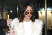 Vanessa Hudgens Aviator Sunglasses