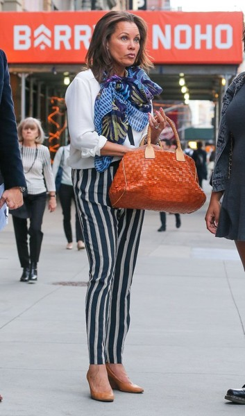 Vanessa Williams Print Pants