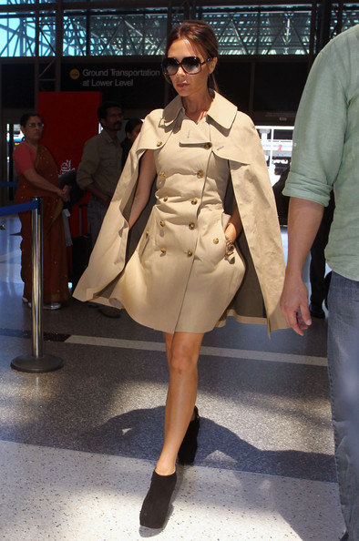 More Pics of Victoria Beckham Trenchcoat (5 of 8) - Victoria Beckham Lookbook - StyleBistro